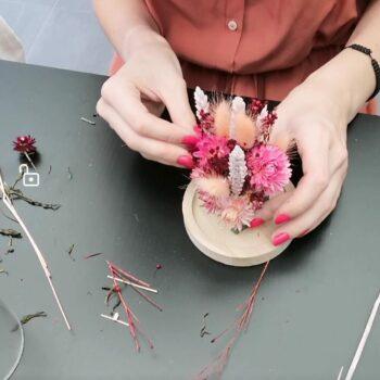 DIY pakket droogbloemenstolp