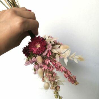 boeketje droogbloemen